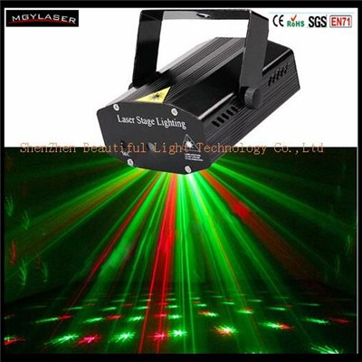 Mini Projector Stage Laser Light Spotlight Sound And Music Active For Home Party