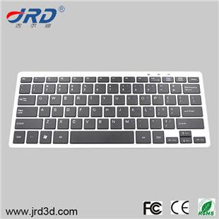 JRD Ultra-Thin Wireless Bluetooth Keyboard for Laptop PC Support Multi-Language Russian Japanese Korea French German Arabia Keyboard