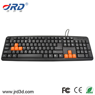 JRD-KB001 Wired Computer Keyboard Hot Sale Model