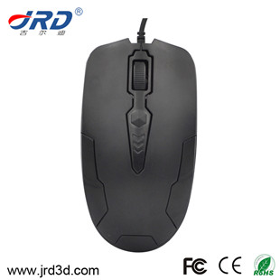 JRD YM10 800/1000/1200dpi Optical Mouse, USB Optical Wired Mouse