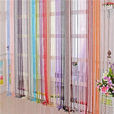 Fringe Door Curtains-String Curtain for Decor