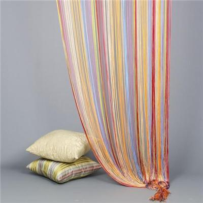 Multi-color Warp Knitting String Curtain 5