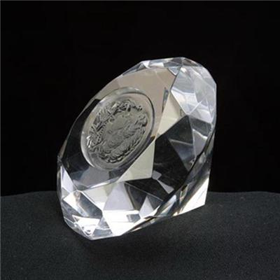 Etched Crystal Diamond