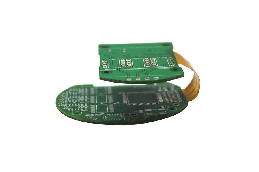 4-Layer Flex-rigid Printed Circuit Boards(PCB) Prototyping Fabrication