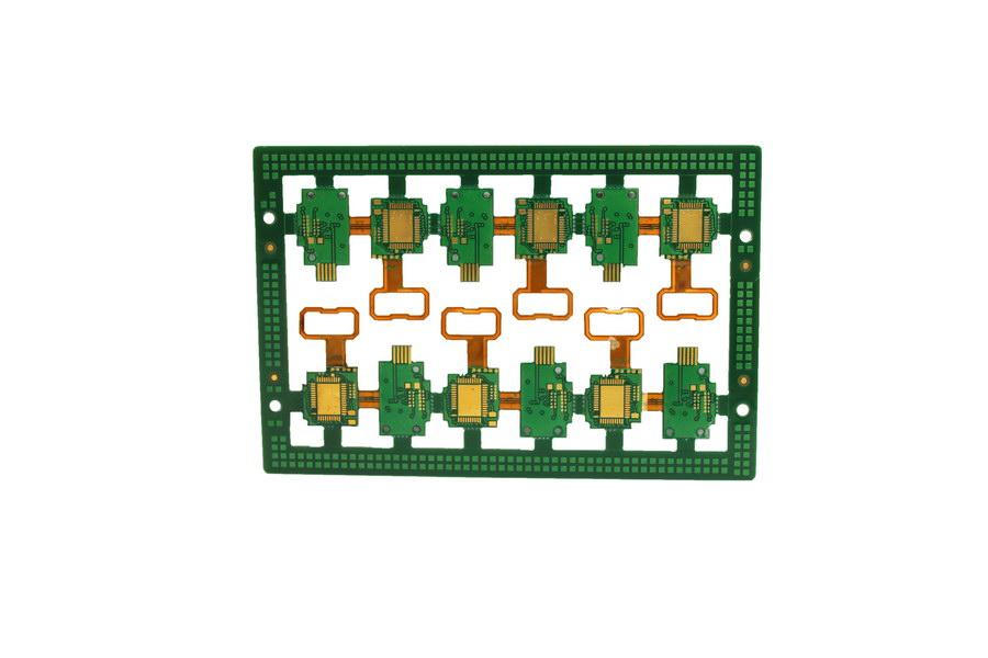 6-Layer Flex-rigid Printed Circuit Boards(PCB) small & big volume