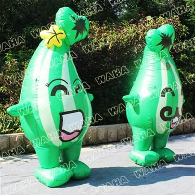 Cheap Funny Inflatable Green Suit Costumes