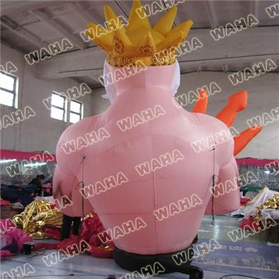 Inflatable Poseidon Cartoon 3D Design Poseidon Inflatable