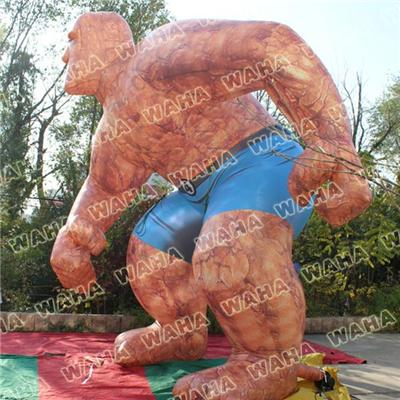 Inflatable Rock Stone Man Inflatable Movie Charactor Customized