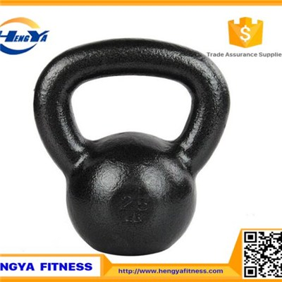 Sparying Paint Cast Iron Kettlebell