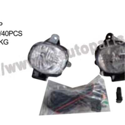 Toyota Hilux Vigo Fog Lamp Lh With Wire Set