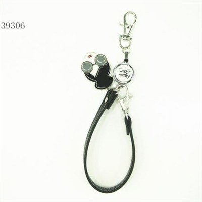 Promotional keychains with logo pendants