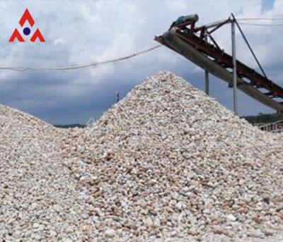 River Stone Crusher Production Plant