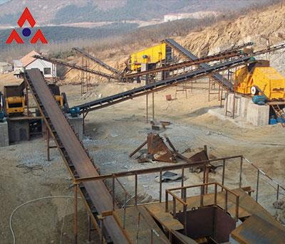 High Efficiency And Energy Saving Sand Crushing Plant