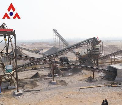 Application Of Complete Hot Stone Crushing Line