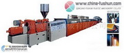 PVC Foaming Shape Molding Production Line