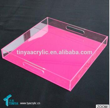 Customized High Quality Acrylic Serving Tray Acrylic Candy Tray New Design Acrylic Tray
