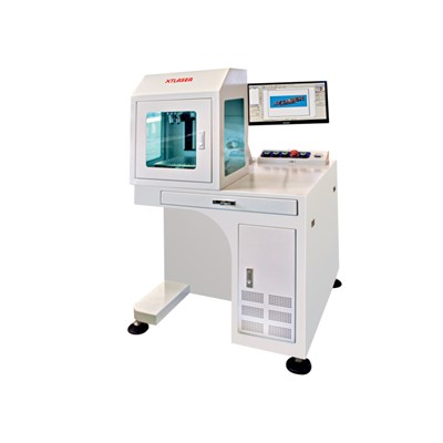 3w 5w 10w Ultraviolet Laser Marking Machine For Nonmetal Materials