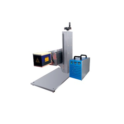 30w 50w Mini Co2 RF Laser Marking Machine For Glass, Rubber, Fabric Nonmetal