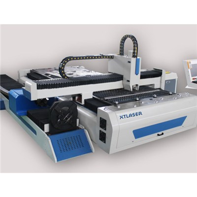 Sheet And Pipe Fiber Laser Cutting Machine
