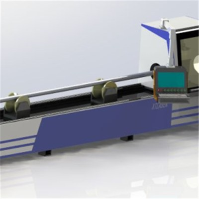China 500w 750w 1000w 1200w Fiber Laser Cutting Machine For Metal Pipe& Square Tube Cutter