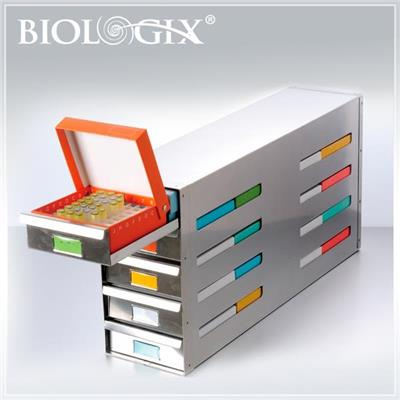 Stainless Steel Vertical Freezer Rack Supplier Factory 丨 Biologix