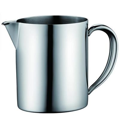 0.5 L Satin Finish Milk Pot, Satin Finish Milk Pitcher, Stainless Steel Milk Pot