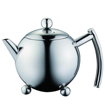 1.5 L Stainless Steel Teapot/Tea Kettle With Globe Feet