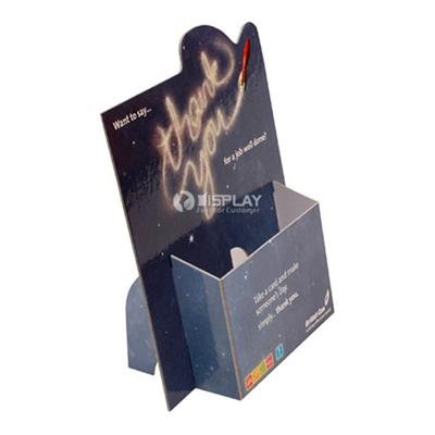 Brochure Holder with Pad Standing