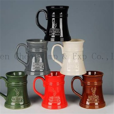 500ml Personalized Engravable Ceramic Beer Cups