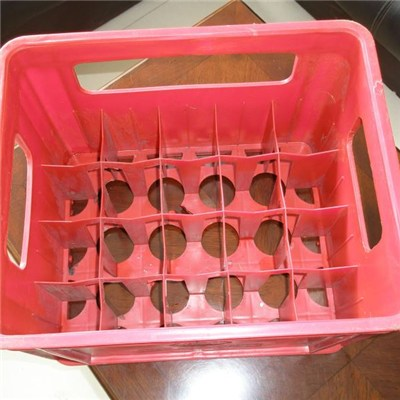 Red Color Beer Crate
