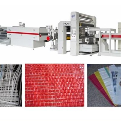 PP Woven Bags Flat Plastic Filament Extrusion Line