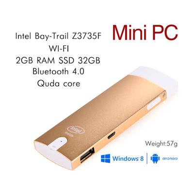 Z3735F 2G 32G Windows10 Dual OS Mini PC For Five Color Choice
