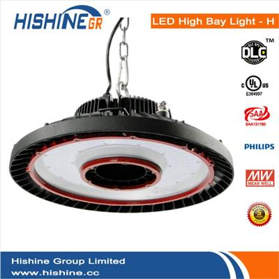 High Quality 200W UFO LED High Bay Light 26000Lm Meanwell IP65 Retrofit Highbay Lamp Fixture