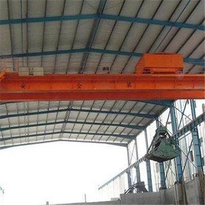 Hot sale overhead crane with grab manufacture