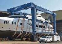 Boat Travel Lift, for Maintenance or Clean Work in Harbour and Aquatic Clubs