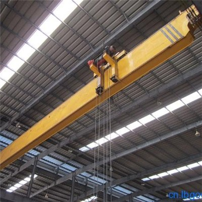 LDP Single/Double Girder Overhead Crane with hoist