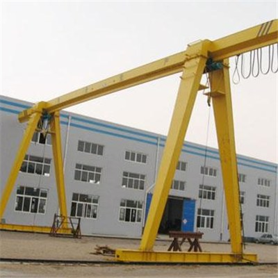 Electric hoist gantry crane with pendant control
