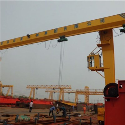 single girder gantry crane  50t hoist