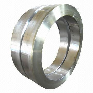 Closed Die Forging Stainless Steel Forged Rings For Car Wheel Rim , 300mm Customized
