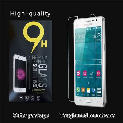 0.3mm Ultra-thin Tempered Glass Screen Protector For Samsung Galaxy J110 With 9H Hardness/Anti-scratch/Fingerprint Resistant