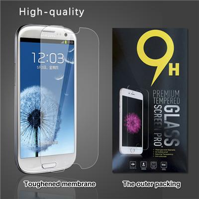 Screen Protector For Galaxy S3,Premium Tempered Glass Screen Protector For Samsung Galaxy S3,Bubble-Free,HD-Clear,Anti-Scratch,Anti-Glare,Anti-Fingerprint