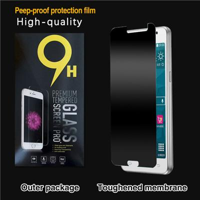 Privacy Anti-Spy Tempered Glass Screen Protector For Samsung Galaxy J110 With 9H Hardness - Protect Your Screen From Scratches Drops And Anti-Spy (Samsung Galaxy J110)