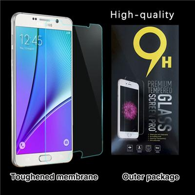 0.3mm Ultra-thin Tempered Glass Screen Protector For Samsung Galaxy Note 5 With 9H Hardness/Anti-scratch/Fingerprint Resistant