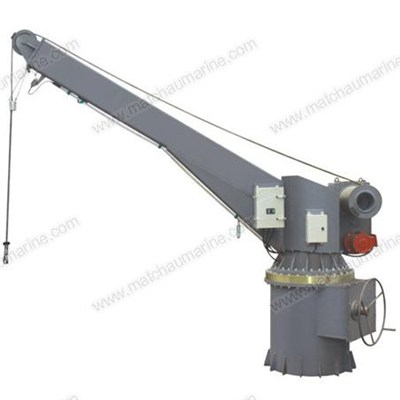 Electrical Hydraulic Slewing Crane Boat Raft Davit