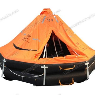 CCS/EC Approved D type Davit-launching Inflatable Life Raft