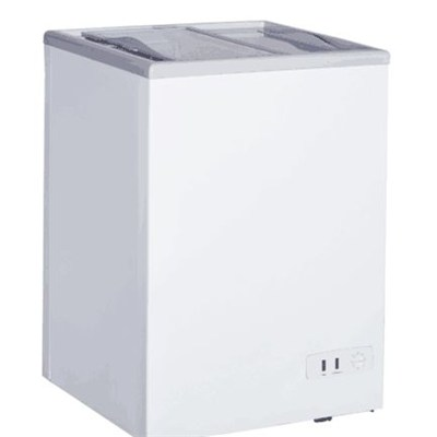 Horizontal Sliding Door Chest Freezer