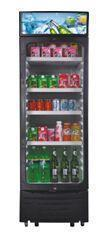 220V 50Hz Glass Door Showcase Refrigerator