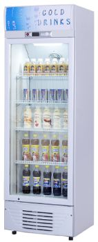 R134a 60Hz Supermarket Glass Door Beverage Showcase