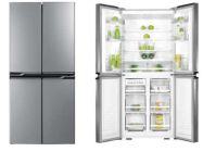 Four Temperature Compartment Frost Free Side By Side Door Refrigerator
