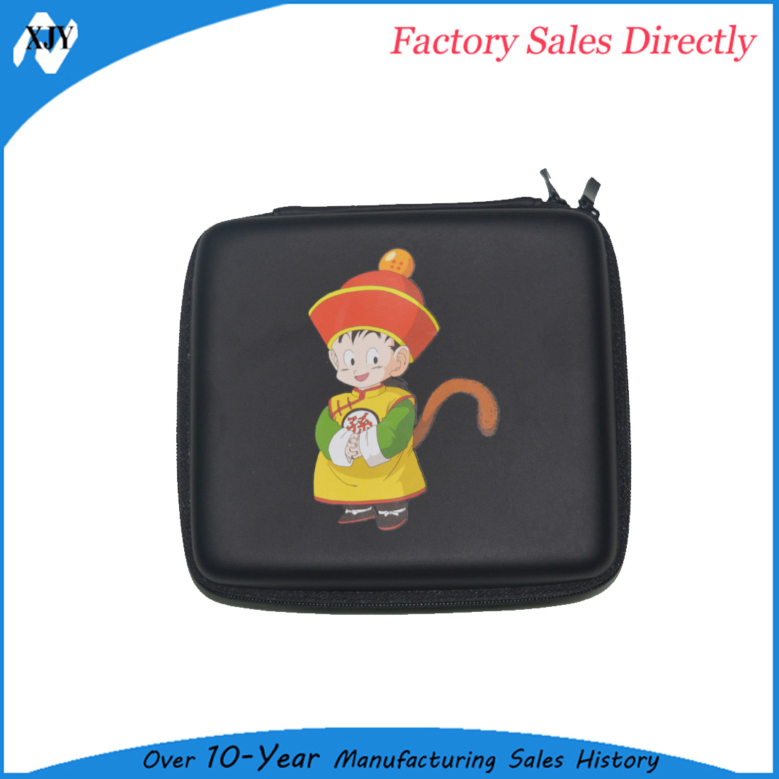 Travel hard EVA carrying case for nintendo 2ds